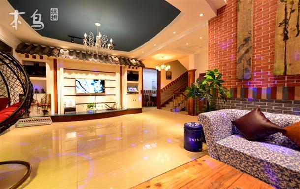 青岛崂山区|山海边绿谷聚会别墅—中式风格