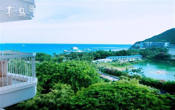 凤凰岛全貌,山,楼,椰林,尽收眼底,小区物业完善,24小时保安,三楼空中