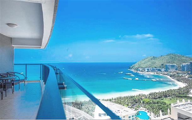 大东海 超级大阳台海景豪华套房 三室2厅