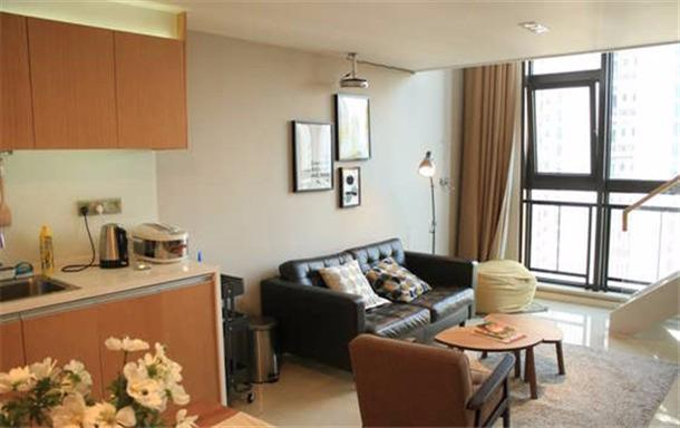 北欧风loft豪华公寓 舒适两居室整租