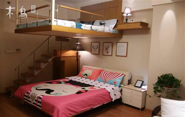 吊床风格卧室设计效果图