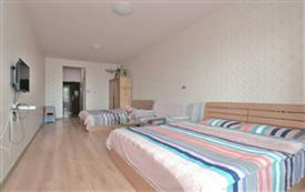 百合假日公寓清新双床房