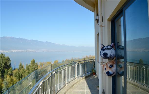 洱海龙湾海立方 海景家庭四室套房