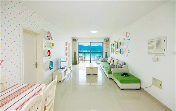 大东海海景 波恩城的日光 两居室
