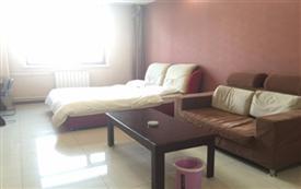 摩尔城丽家公寓温馨大床房