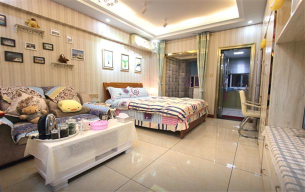 江北观音桥旁 东原商圈 温馨一居室
