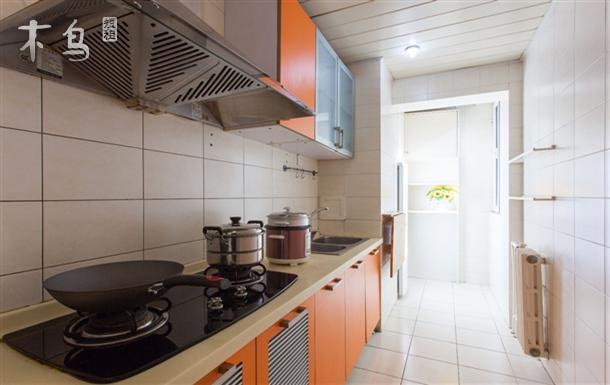 共享26平米客厅,餐厅,厨房及卫生间,完美户型豪华装修配置只为的您
