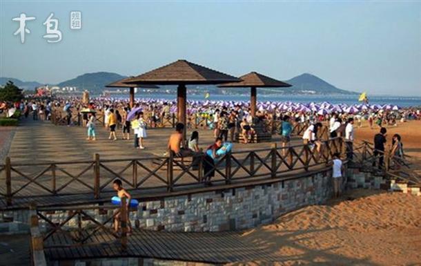 金沙滩景区 海景套房 温馨三室二厅-青岛黄岛区日租