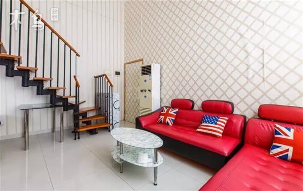 广州珠江新城美国大使馆旁复式二房整租