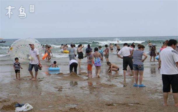 青岛步行到金沙滩5分钟温馨二居可住6人