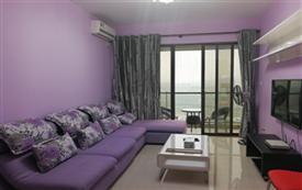 紫色风情套房
