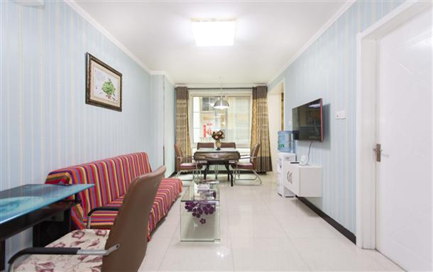 空中花园 玉洁短租公寓 精装跃层三室