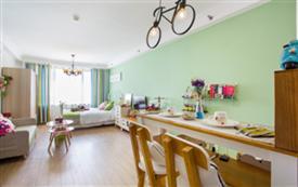 阳光可以洒满整个房间开放式公寓...