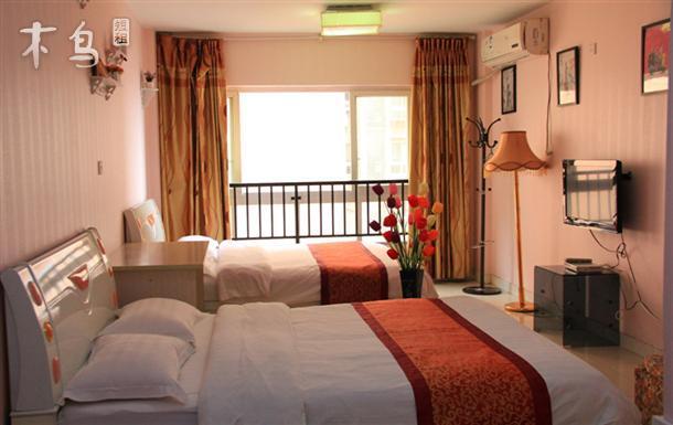 一室   整租   可住2人立即预订 三峡广场  煌华新纪元 标准间 一室