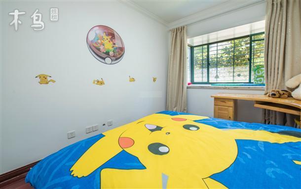 近野生动物园 迪士尼 卡通亲子民宿 三房两厅