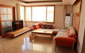国际海水浴场看海温馨三居室