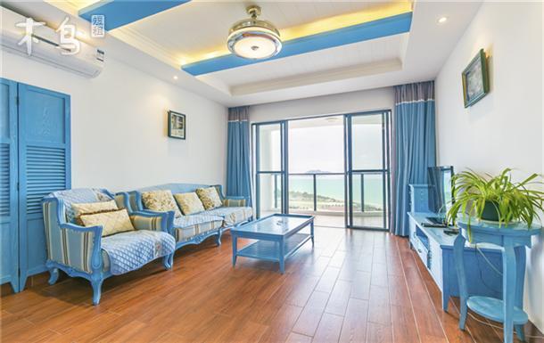 美丽新海岸小区地中海主题风格豪华海景2居室
