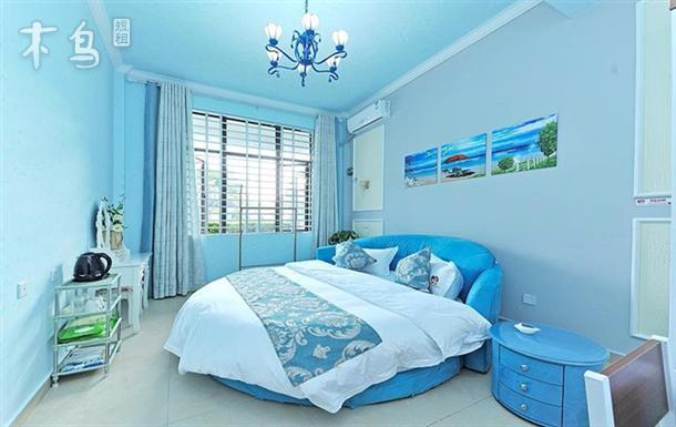 两室 | 整租 | 可住4人立即预订 三亚海棠湾龙海风情小镇 海洋风圆床