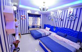 武汉站 蓝色海洋家庭房