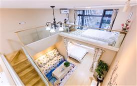 城西银泰商圈复式小清新公寓