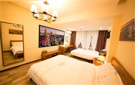 浪漫巴黎Style 双床...