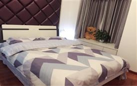 全木地板双空调房 一居室