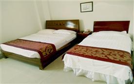 深圳南澳辉海宾馆标准双床房