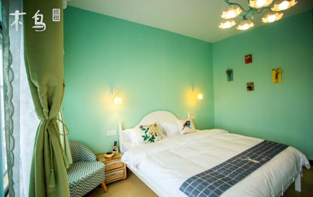 潿洲島離碼頭5分鐘路程,海邊2-3分鐘夢想的房子b區豪華大床房