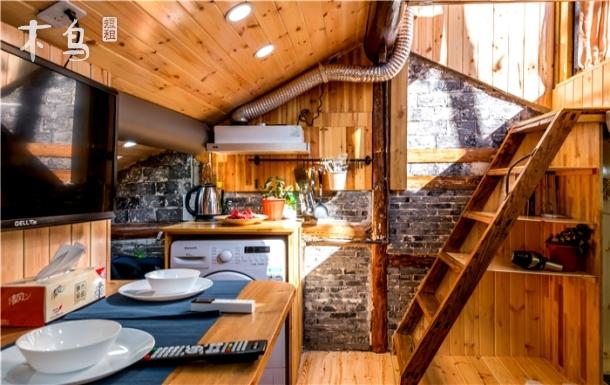 阳台木屋 一居室 一室 | 整租 | 可住2人立即预订 新天地两房全新装修