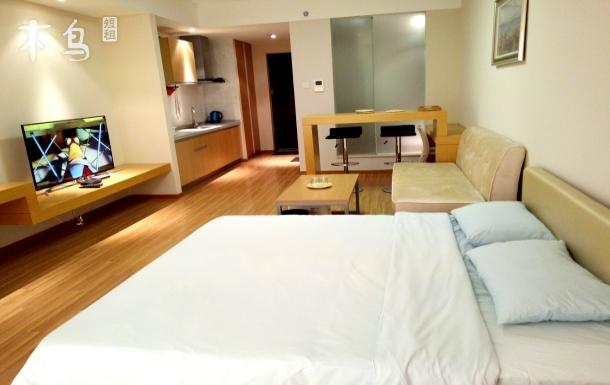 華貿蔚藍海岸海景一居室公寓