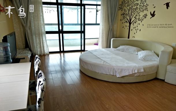 洲際度假區觀海大床房