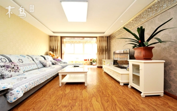 北戴河小魚家庭公寓 精裝大兩室 免費停車