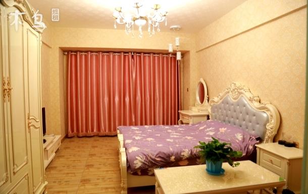 天津信合豪华欧式风情舒适大床房公寓