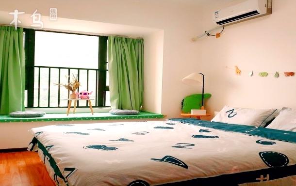 天仙湖临湖阳光充沛的大床房整租
