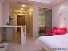 液晶电视的高档公寓,复兴区特别...