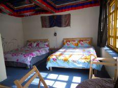 西藏拉萨古居客栈特色民族风