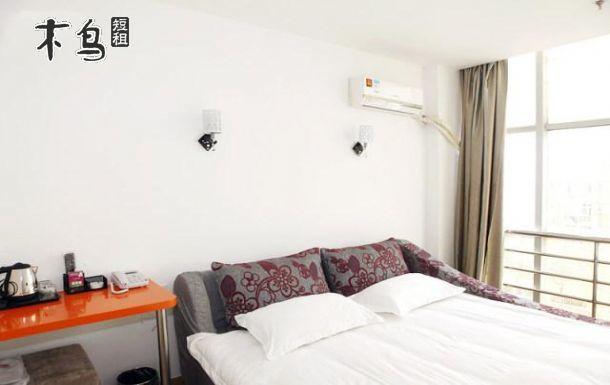 滨江高教园(垃圾街)春意朦胧特色大床房