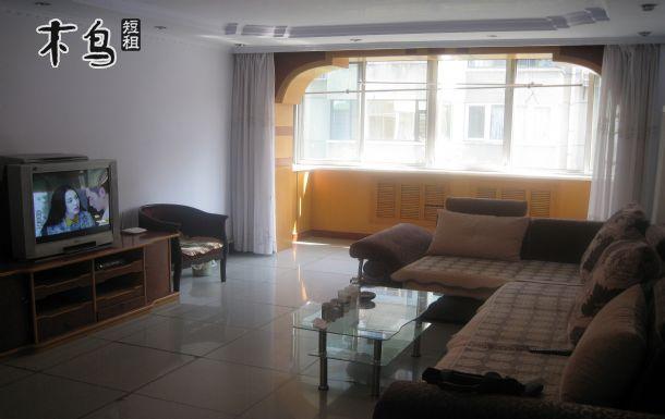 避暑山庄门外,三室两厅130平米超大套房,全新全白床品
