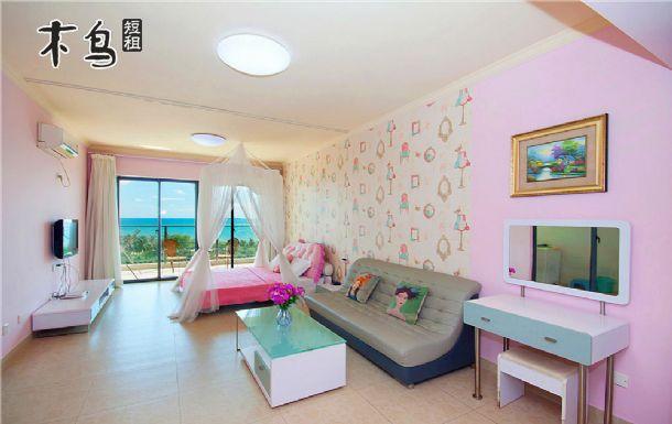 三亚湾170度大阳台海景安娜大床房