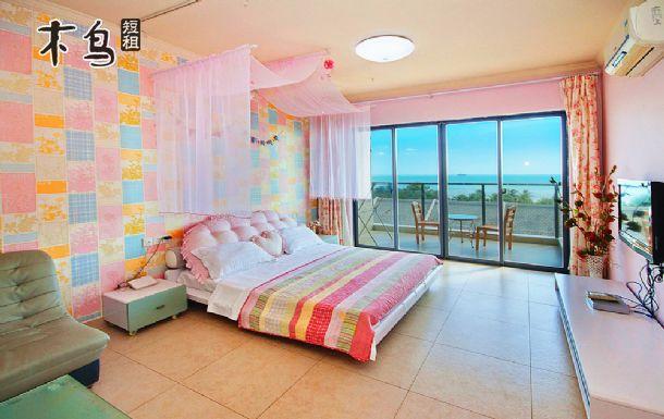 三亚湾 170度 大阳台海景米拉大床房