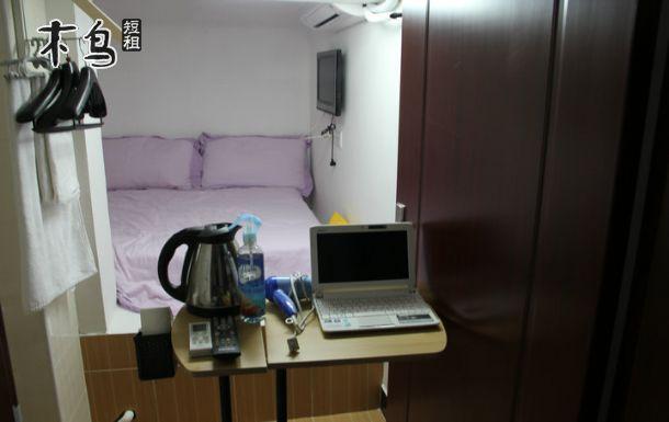 地铁口 独卫 高速WiFi 迷你公寓一居室