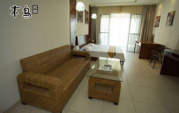 三亚湾椰梦长廊邻近天涯海角高级海景一房一厅