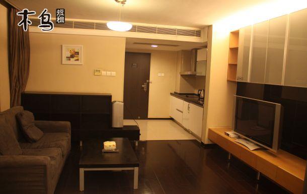 青岛五四广场附近颐和国际一居室整租