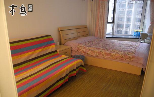 北京月坛 儿童医院精装舒适大床房