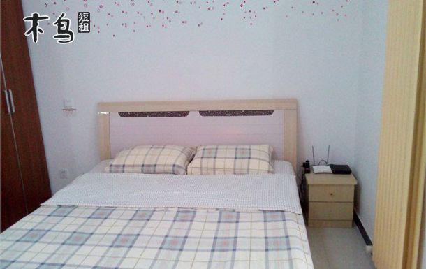 公寓毗邻郑州动物园,河南博物馆电脑大床房