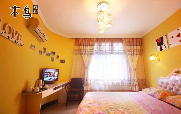 凤凰古镇广场附近  8301清新浪漫大床房