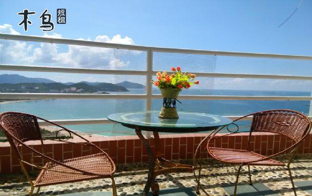 三亚蓝海港湾度假公寓 独立三室两厅高层豪华海景度假套房