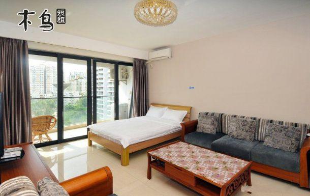 三亚椰梦长廊超级豪华海景套房(二卧室一厅)