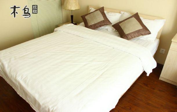 北方传媒大厦边,沈阳音乐学院旁简约时尚浪漫大床房