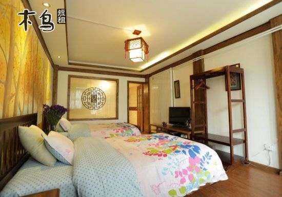 丽江 古城区 在这里幸福花园客栈 近金虹路 温馨双床房
